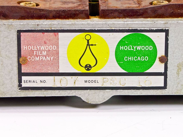 Hollywood Film Company 16MM Film Camera Support Equipment PSC 16