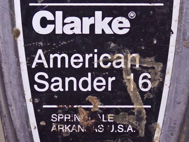 Clarke American Sander 16 / Floor Buffer - As Is