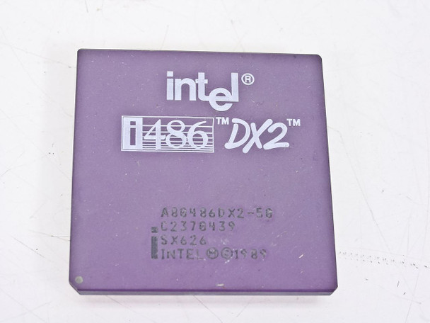 Intel  486/50Mhz Processor A80486DX2-50 SX626