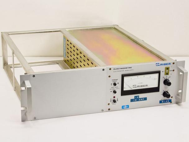Riber Electrometer 0-100uA, rack mount EPP11