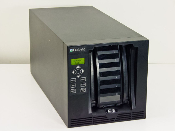 Exabyte EZ17-LVD Autoloader Tape Drive - 270011-1154 - As-Is / For Parts