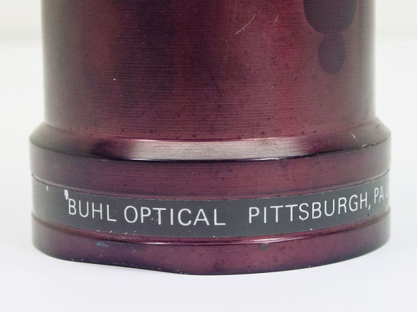 "Buhl Optical  8.5"" F3.9  Carousel Lens- small dent on threads."
