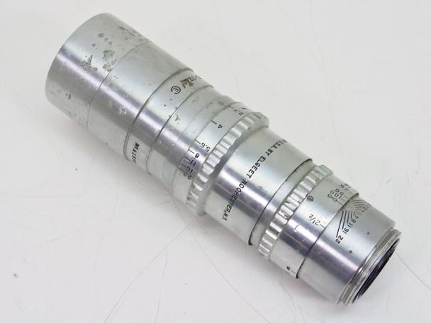 "Elgeet Rochester  C-Mount Lens - As Is 4"" Cine-Tel F2.7"
