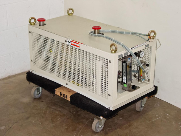 Ebara 40X20 Dry Vacuum Pump 42 CFM 3-HP 208V 3-Ph 11A - Seized - As Is For Parts