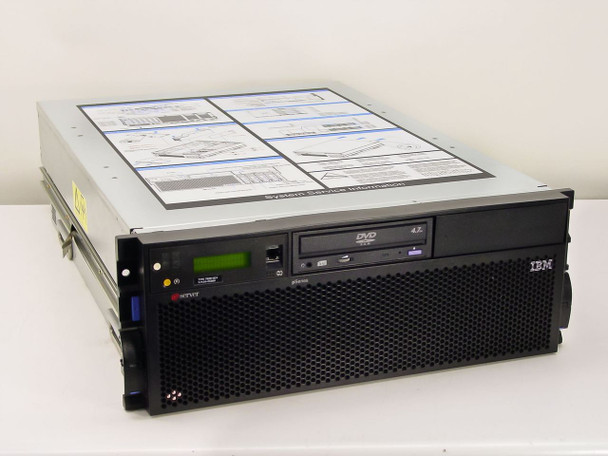 BM 7028-6C4 pSeries eServer 4U Rackmount Computer - No Hard Drives - AS-IS