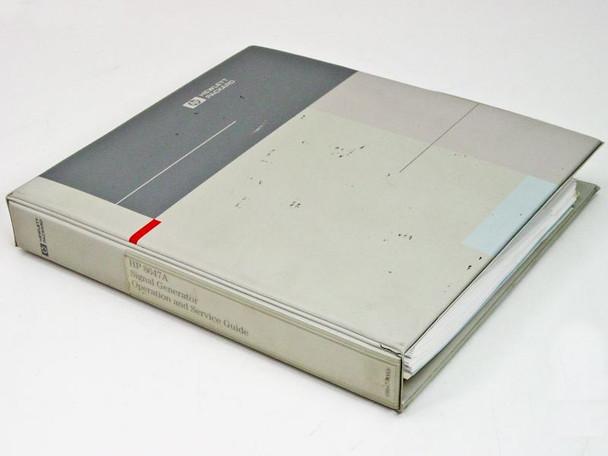 HP 08647-90006 8647A Operation & Service Manual - March 1994 - No Schematics
