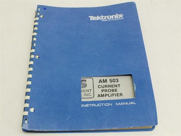 Tektronix AM503 Current Probe Amplifier  Instruction Manual