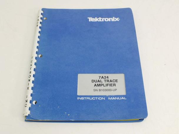 Tektronix 7A24 Dual Trace  Instruction Manual