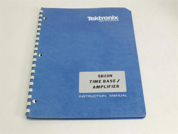 Tektronix 5B10N  Instruction manual