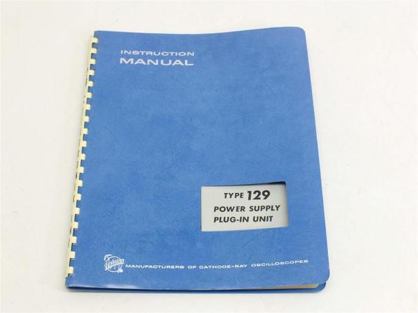 Tektronix 129 Power Supply Plug In Instruction manual
