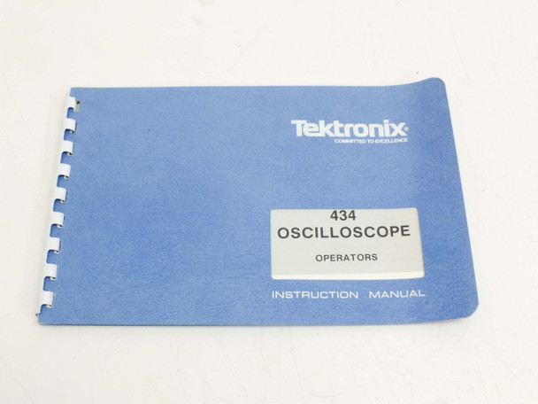 Tektronix 434  Instruction Manual 070-1131-00