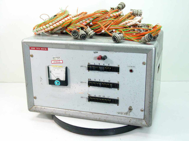 Electronic Test Powerstat Type 116 / Hevi-Duty Transformer ESS TFX 5318 - AS IS