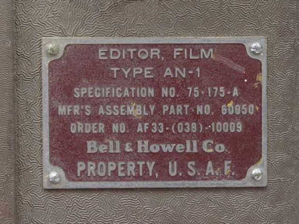 Bell & Howell / B&H Film Editor AN-1