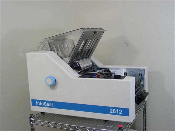 Infoseal 2612 Automated Paper Folder Sealer - Works But No Sheet Feeder - As Is