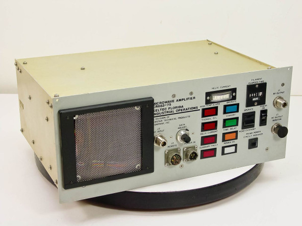 Keltec Florida C Band TWT Amplifier Thomson TH3641 Tube CR683-75