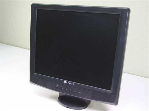 """Advueu ADV178B  17"""" LCD Monitor - EZ17F - AS IS"""