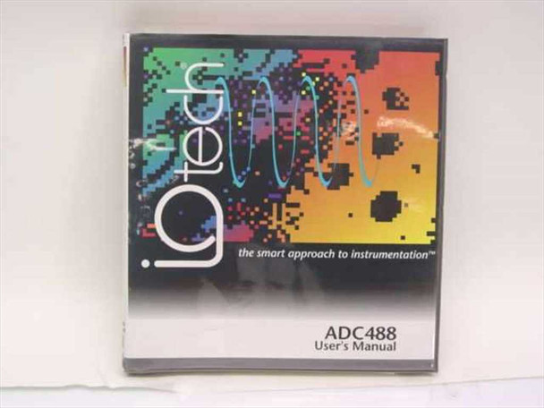 IOtech ADC488/ 16A/ 8SA User's Manual 100-0920