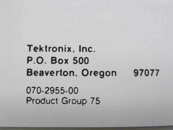 Tektronix 070-2955-00  TM 5003 Power Module Instruction Manual