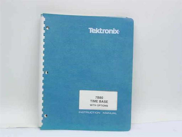 Tektronix 070-1959-00  7B80 Time Base Instruction Manual
