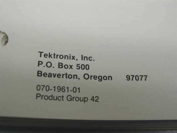 Tektronix 070-1961-01  7B85 Delaying Time Base Instruction Manual
