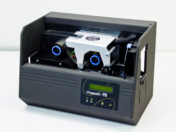 Polaroid 75  ID Card Printer for Parts or Repair - No Printhead - AS IS