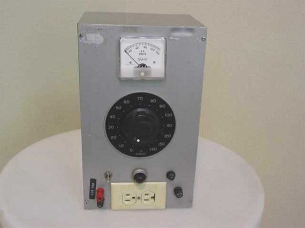 Variac 0~135 Volt AC 750Ma Variable Transformer Triplite Meter - 2 Output Ports