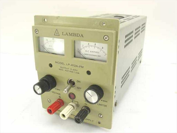 Lambda Electronics Regulated Power Supply 40 V 1A LP-412A-FM - PARTS UNIT