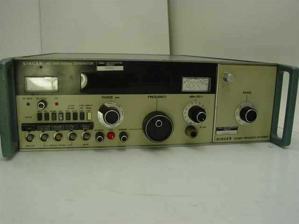 Singer SG-1000 Signal Generator SG-1001 Frequency Extender - As Is / For Parts