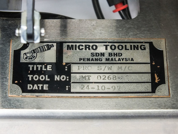 Micro Tooling PRO S/W M/C Precision Manufacturing Tool ENGTEK MT0268 (MT 0268)
