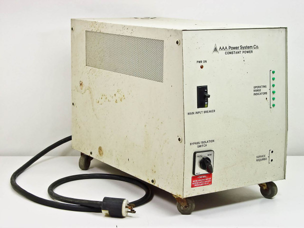 AAA Power Systems 5KVA Constant Power Supply Line Conditioner AR005C0200T1-AS IS