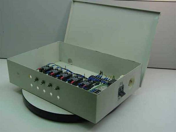 Generic Beige Metal  Power Control Box - AS IS