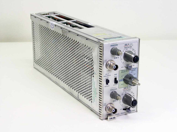 Tektronix 7A26 Dual Trace Amplifier Plug-In for 7000 Series Oscilloscopes