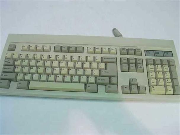BTC BTC-55 55 Series Professional 101-Key AT Keyboard - AS IS