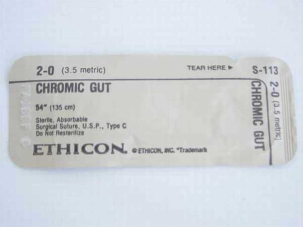 Ethicon S-113  Suture, Absorbable 6515-00-616-9450
