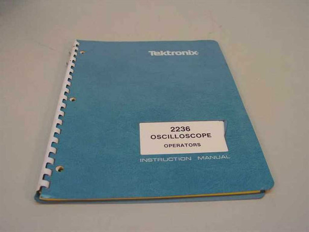 Tektronix 2239  Oscilloscope Operators manual