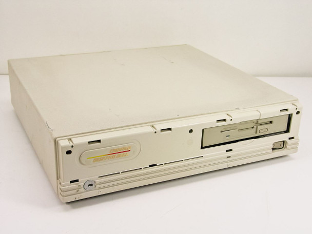 Compaq 3010 Deskpro PC 286n w/ 26-Pin Floppy Drive - Missing Face Plate - AS IS