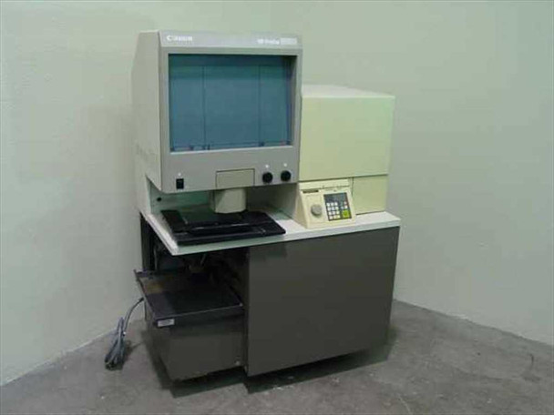 Canon NP-P580 Microfiche Reader-Printer w/Lenses for Parts - AS IS
