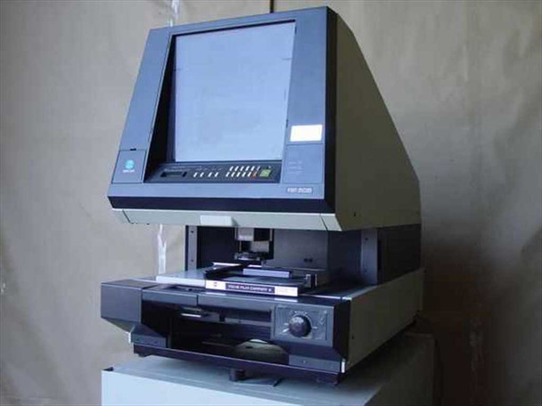 Minolta RP 505 Microfiche Reader-Printer Film Roll Carrier - Missing Lens- As Is
