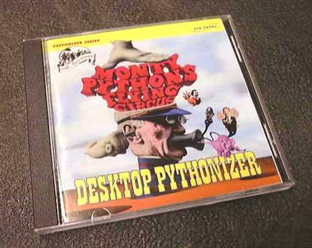 7th Level 70061 Monty Python Desktop Pythonizer CD Windows