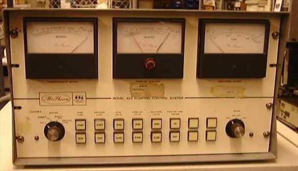 McPherson Pumping Control System 815