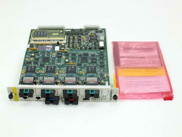 Cabletron 6 Port FDDI Module w/software & Manual  FDMMIM-04