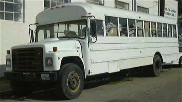 International S1800 Bus  32 foot passenger bus 1987 year built