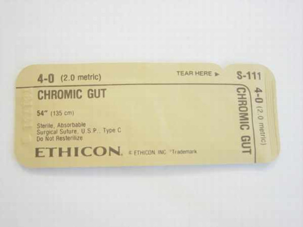 Ethicon S-111  Suture, Absorbable 6515-00-616-9452