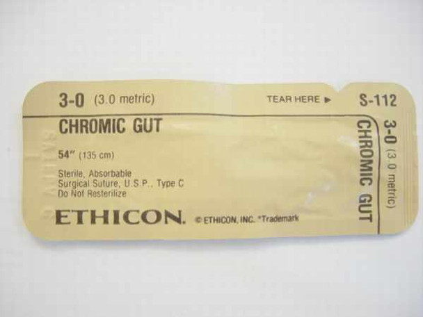 Ethicon S-112  Suture, Absorbable 6515-00-616-9451
