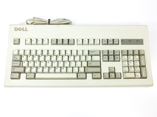 Dell 47421 AT103R PS/2 Keyboard GYUR11SK - Vintage