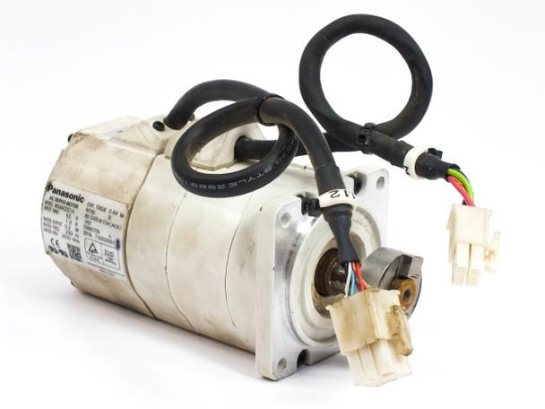 Panasonic AC Servo Motor 92 Volt 3000 RPM  2kW MSMA022C1A