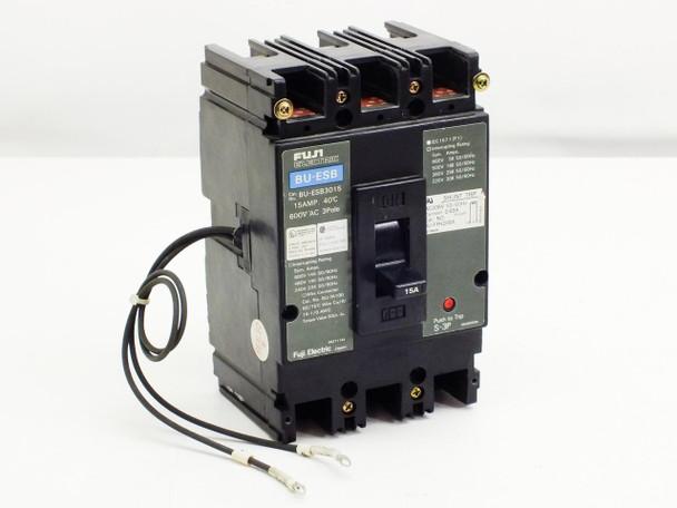 Fuji Circuit Breaker 600 V AC 15 A 3-Pole BU-ESB3015