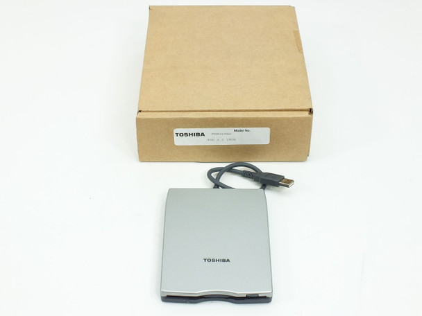 Toshiba PA3043U-1FDD External USB Laptop + PC Floppy Drive 1.44MB - NEW OPEN BOX