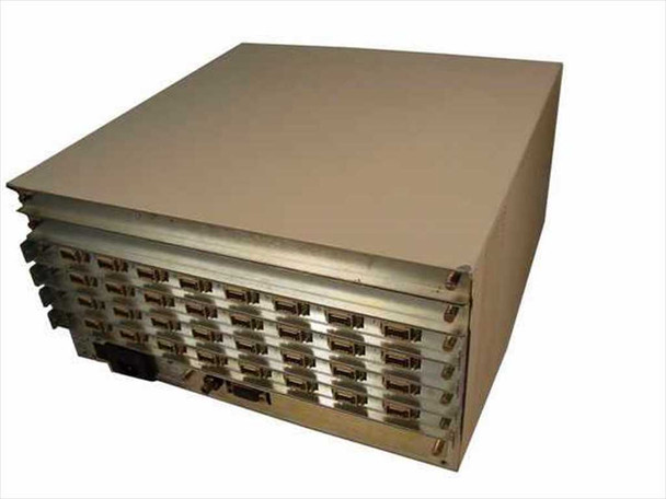 HP 2345A Distributed Terminal Controller DTC 6-Bay with 02345-60003 Boards