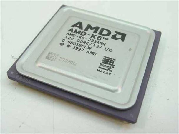 AMD K6 233MHz/66/32/3.2V (K6-233ANR)
